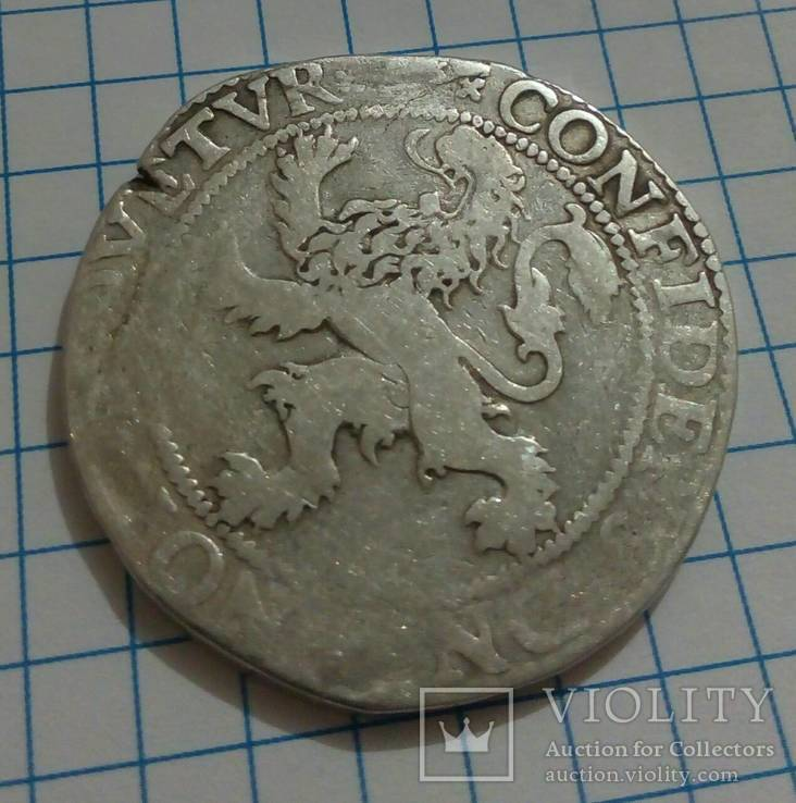 Талер 1589 года, серебро