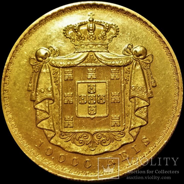 10000 рейс 1878 року, Португалія, золото, 917