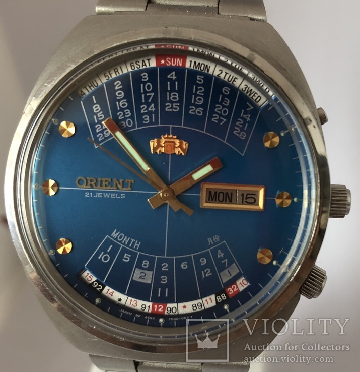 Часы наручные Orient Мультикалендарь