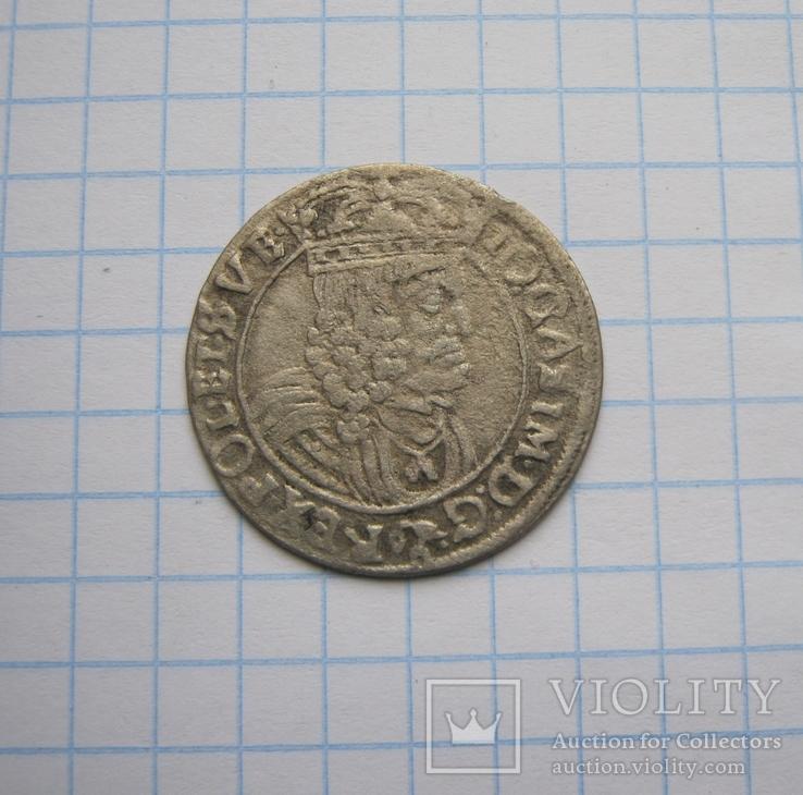 6 грошів 1662 р.