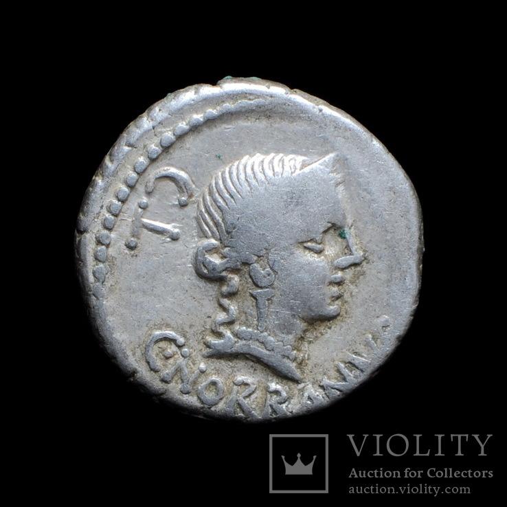 Республиканский Динарий C.Norbanus 83г. до н.э.