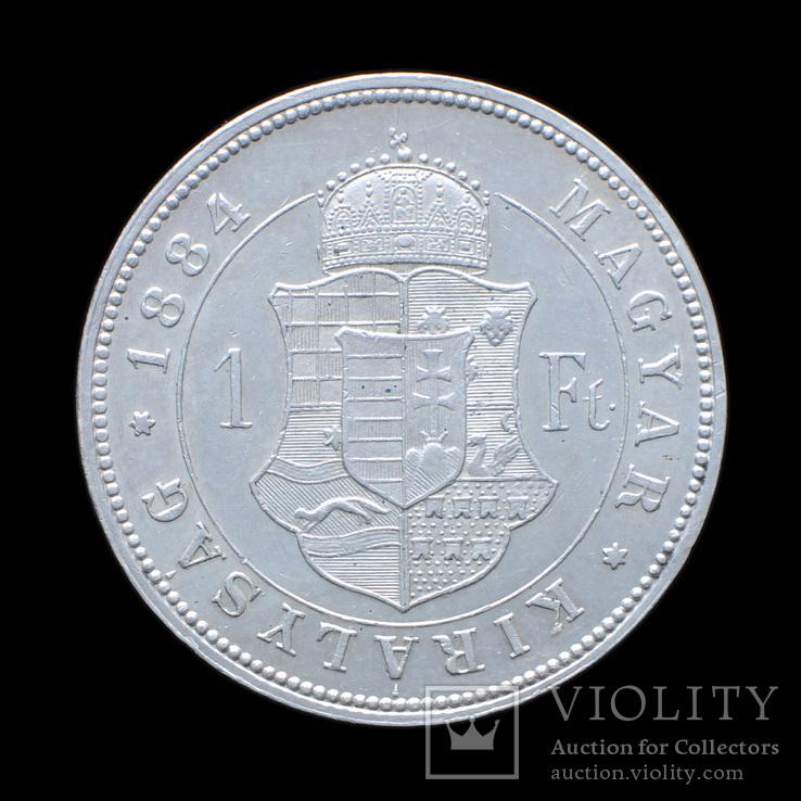 1 Форинт 1884, Австро-Венрия UNC