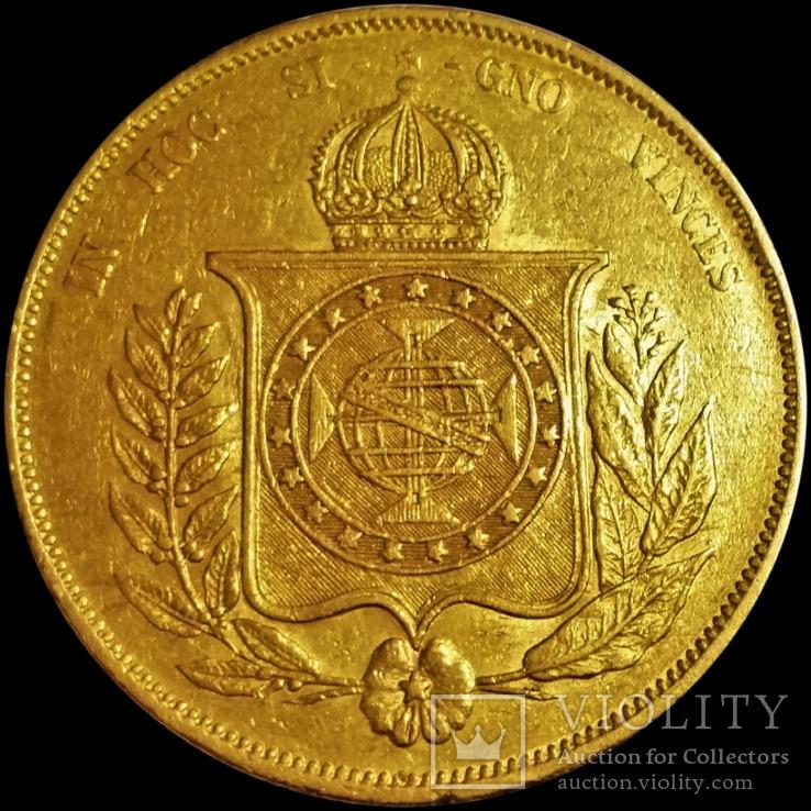 20 000 рейс 1867 року, Бразилія, золото, 917