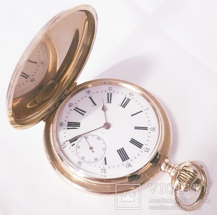 Золоты карманные часы
