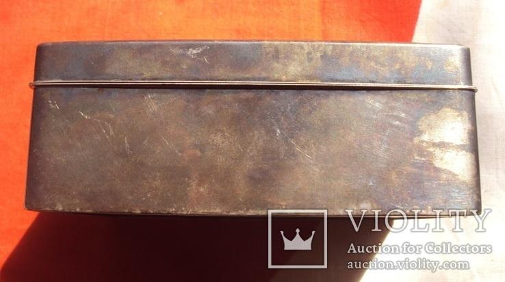 Серебряная шкатулка Япония., фото №7