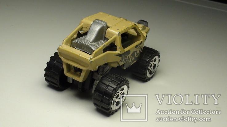 Машинка багги американской армии. Крепкий металл., фото №6