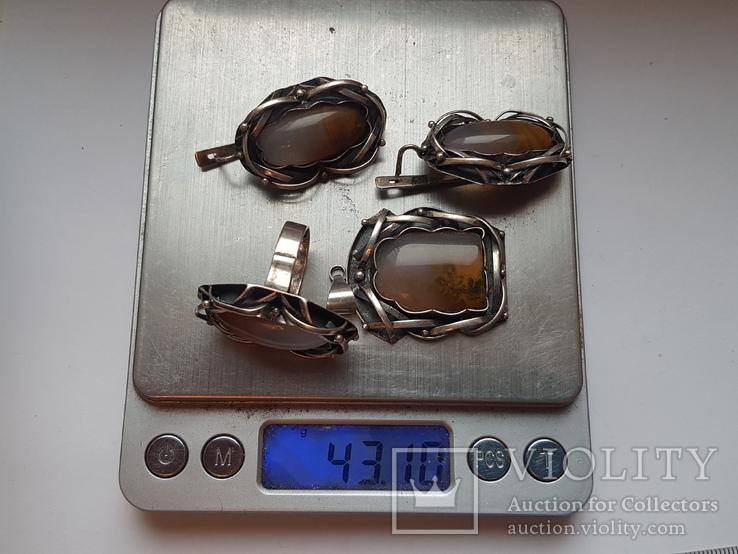 Японский набор. Кольцо 18 размер. Вес 43.11 г., фото №4
