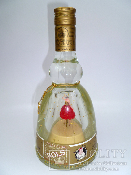 """Bols Ballerina"" - Ликер в бутылке типа музыкальная шкатулка, фото №3"