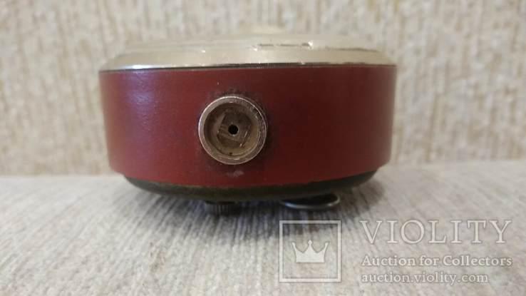 Часы будильник Слава 11 камней коричневые, фото №9