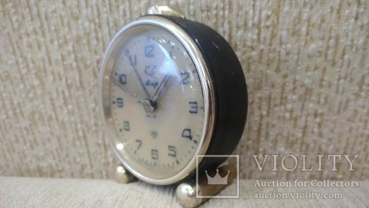 Часы будильник Мир 1957 год, фото №3