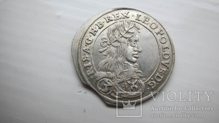 3 крейцери 1661