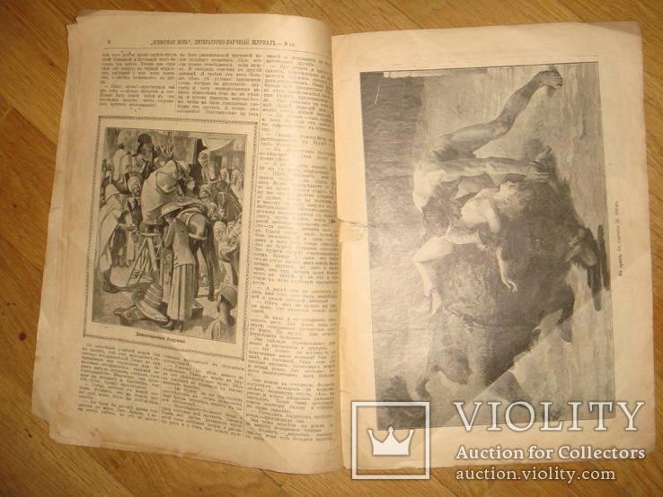 """Журнал """"Всемирная Новь"""" + """"Сад, птицы и комнатное цветоводство"""", № 16, 1911 год, фото №6"""