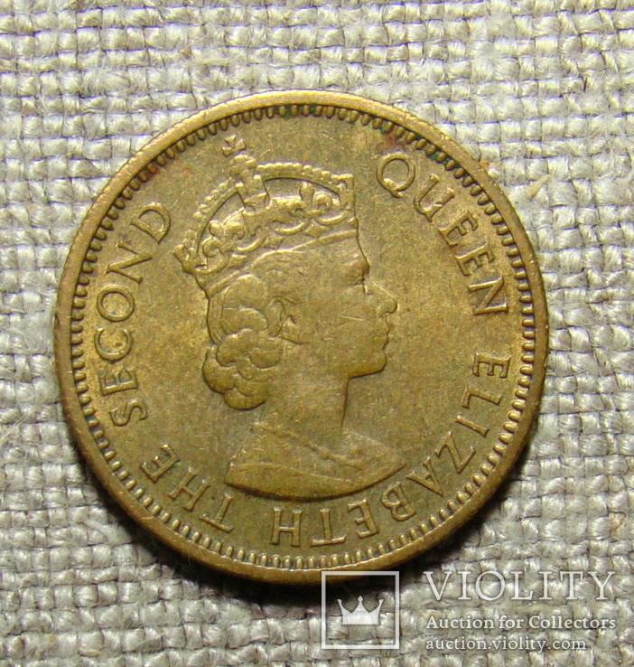 Восточные Карибы 5 центов 1956, фото №3