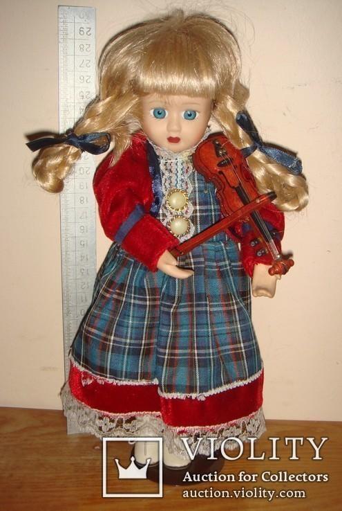 Заводная музыкальная кукла, фото №2