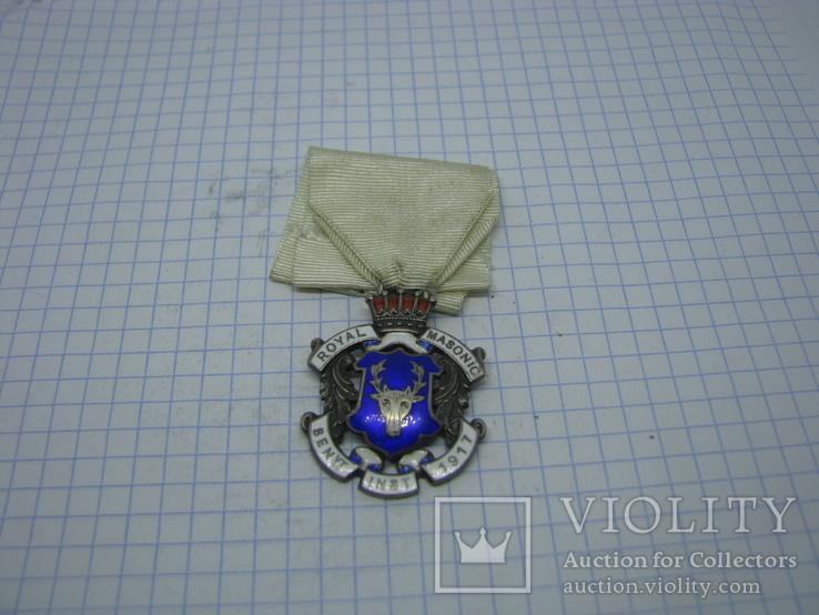 Знак Управляющего Королевского Масонского Благотворительного Учреждения, фото №2