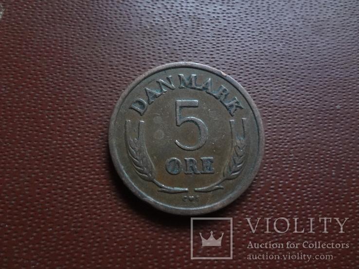 5 эре 1965 Дания   (8.1.22)~, фото №3