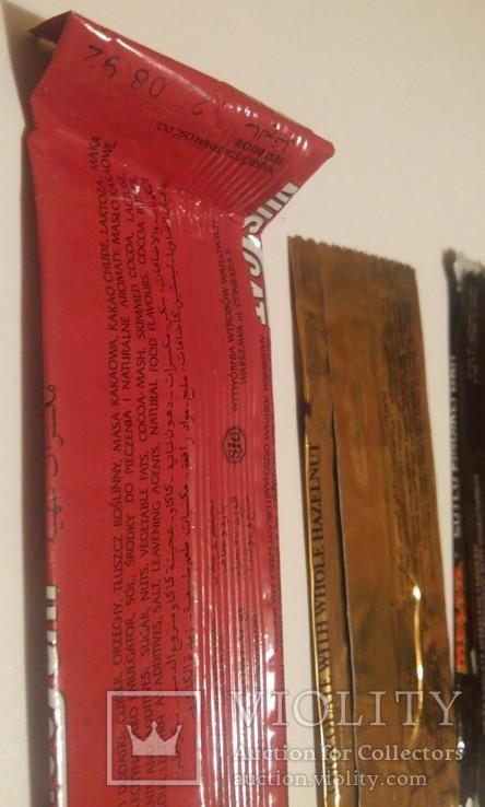 Обвертка из под шоколада 7 штук, фото №4