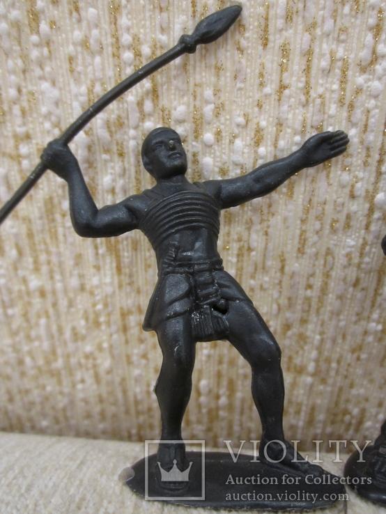 Египтяне черные 4шт., фото №6