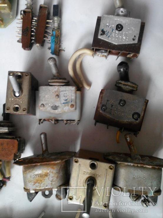 Переключатель тумблер разный, фото №8