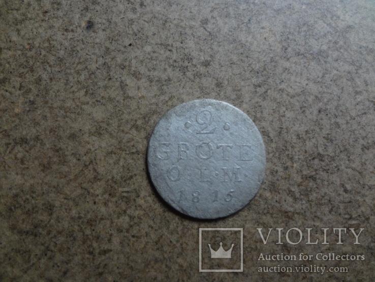 2 грота 1815 Германия   серебро   (У.1.7)~, фото №3