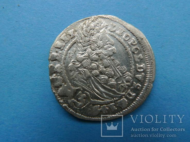 3 крейцера. 1699 год. Венгрия.
