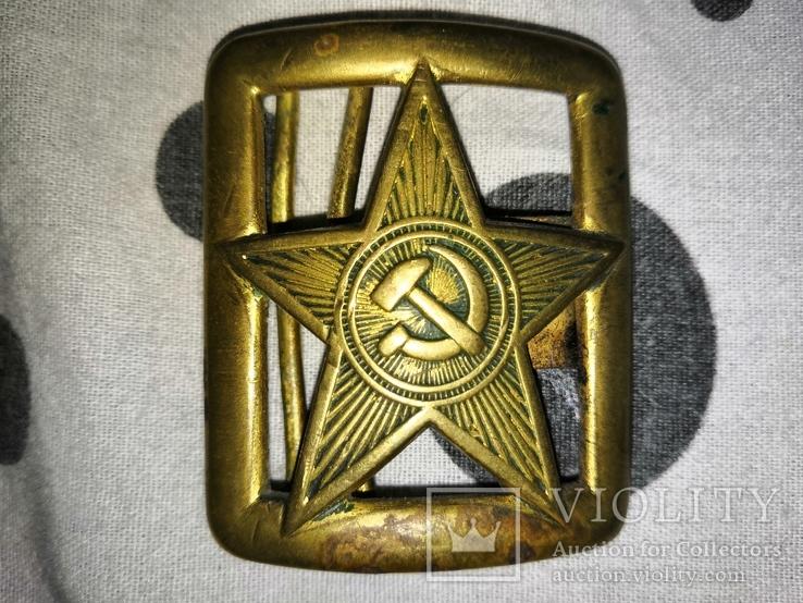 Пряжка РККА, фото №2