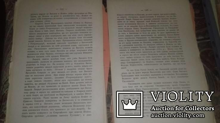 История великого князьвства Литовского.В.Антоновича.Тернопіль1887 г., фото №8