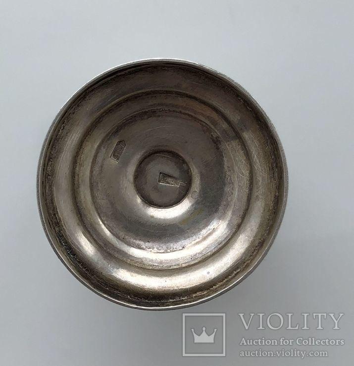 Рюмки серебро чернь 875 пр., фото №7