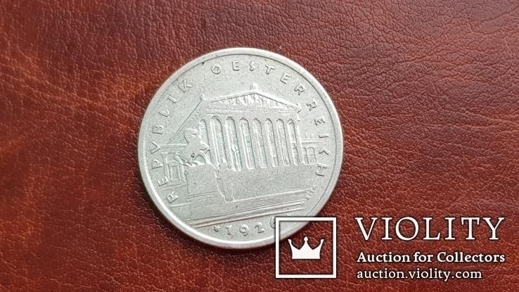 1 шиллинг 1926 года  Австрия, фото №5
