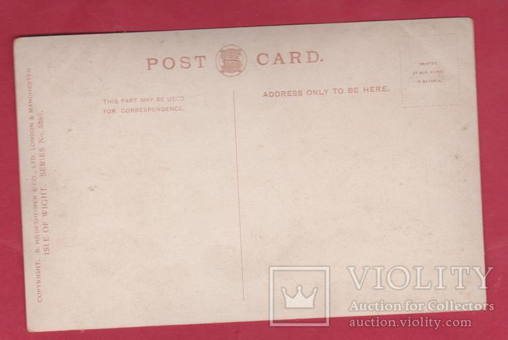 Английская открытка. Лодки. Озеро Ryde, фото №3