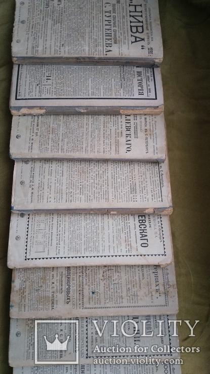 Полное собрание сочинений И.С Тургенева. В 12-ти Томах. 1898., фото №7