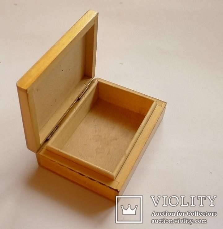 Немецкая деревянная коробочка для сигарет Rostok, фото №5