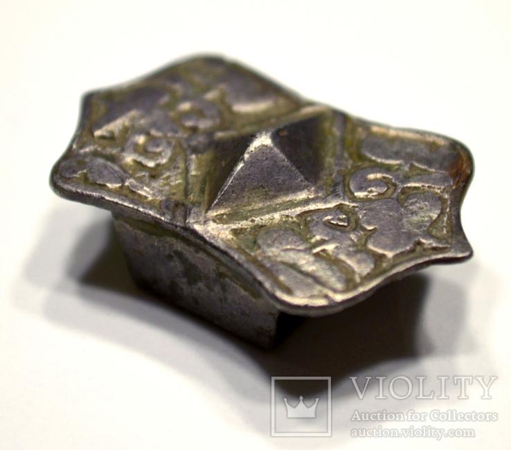 Накладка на пояс, серебро