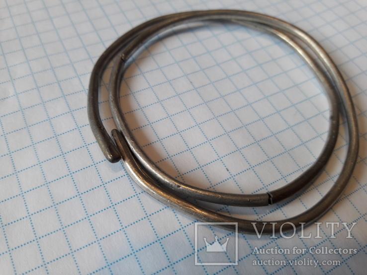 Спіральний браслет Скіфи (срібло)