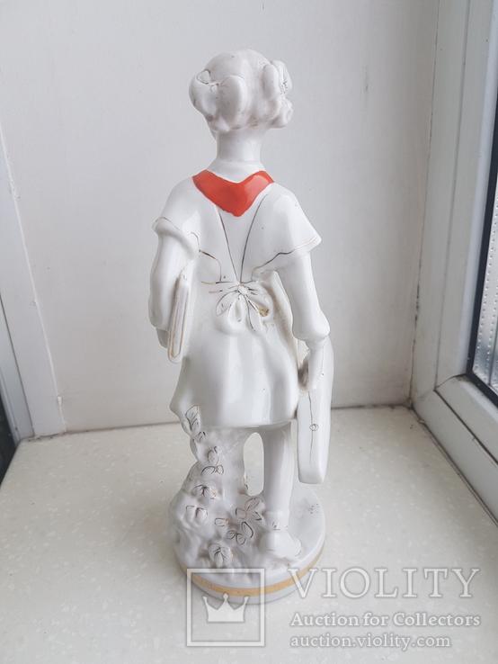 Пионерка со скрипкой, Чудово, 1959 год, 1 сорт, фото №5