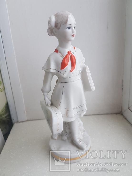 Пионерка со скрипкой, Чудово, 1959 год, 1 сорт, фото №12