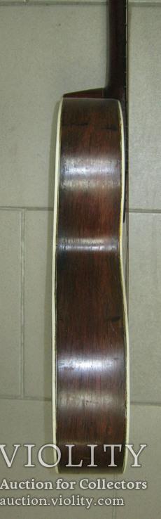 Цыганская гитара 1900 г. А. Ф. Гергардъ Харьков с перламутром, фото №13