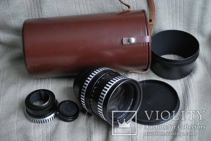 Sonnar 2.8/180 mm, Киев-6, 60, + переходник Carl Zeiss на М.42..