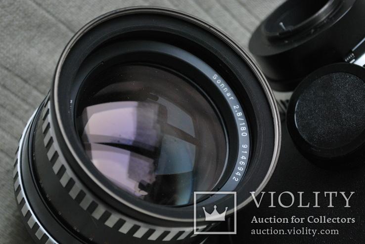 Sonnar 2.8/180 mm, Киев-6, 60, + переходник Carl Zeiss на М.42.., photo number 5