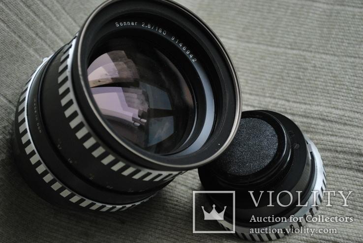 Sonnar 2.8/180 mm, Киев-6, 60, + переходник Carl Zeiss на М.42.., photo number 8