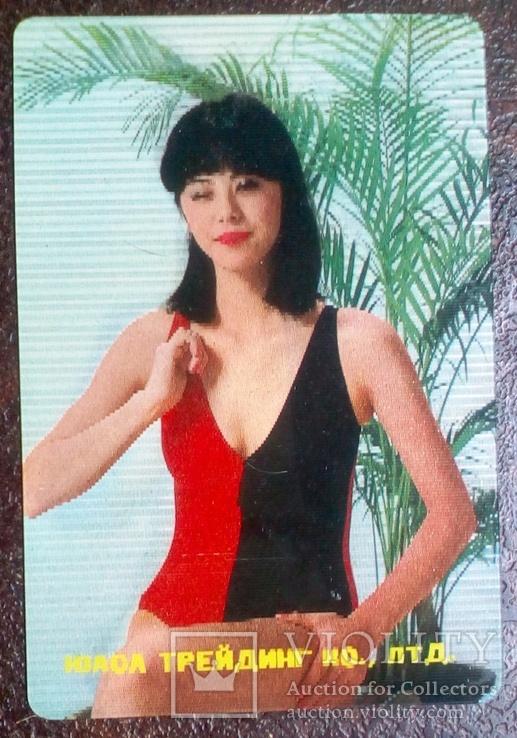 Япония, Девушки ню. эротика. Стерео 2, фото №2