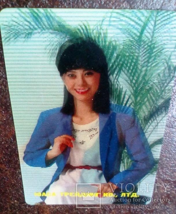 Япония, Девушки ню. эротика. Стерео 2, фото №3