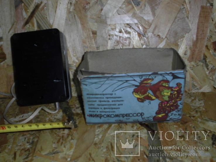 Микрокомпрессор АЭН-4 для аквариума, фото №11