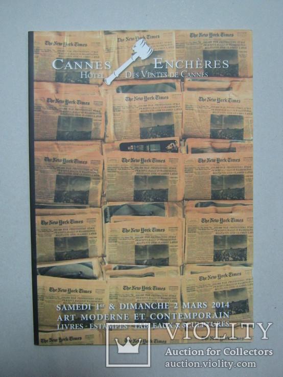 Аукционный каталог Cannes Encheres 02/03/2014, фото №2