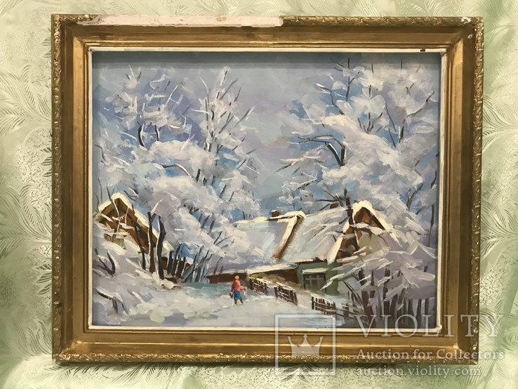 Зима 45х57 двп масло