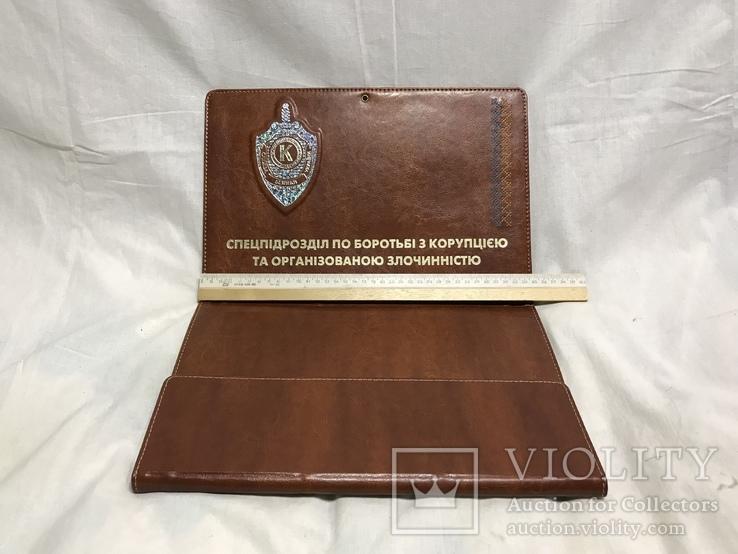 Папка спец. подразделение по борьбе с коррупцией и организованной преступностью, фото №6
