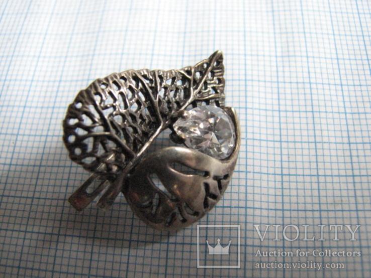 Комплект   серебро 925пр. фионит   вес - 18г, фото №5