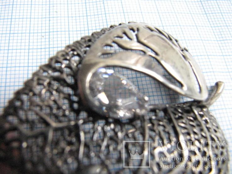 Комплект   серебро 925пр. фионит   вес - 18г, фото №10