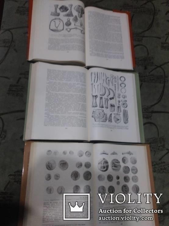 Архелогія Українскої РСР -все 3 тома, фото №3