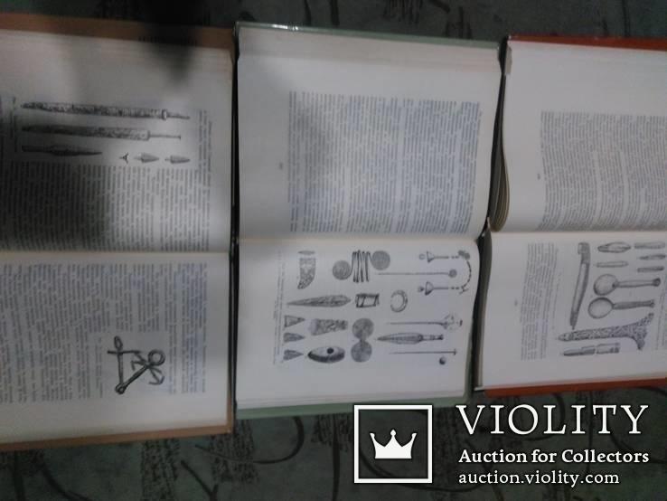 Архелогія Українскої РСР -все 3 тома, фото №5